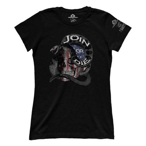 Join Or Die Skull (Ladies)