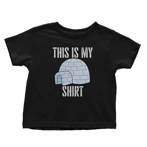 My Big Igloo Shirt (Toddlers)