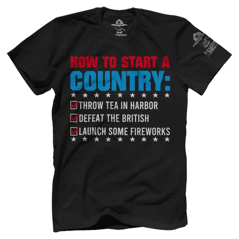 How To Start A Country