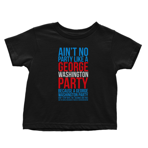 George Washington Party (Toddlers)