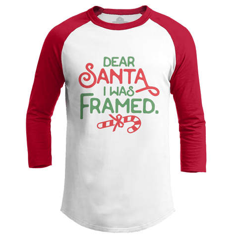 Dear Santa, I was Framed (Ladies)
