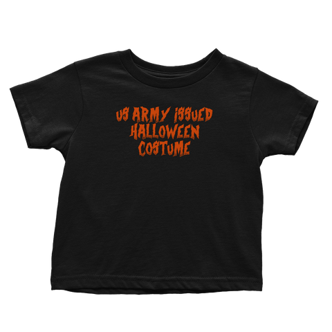Army Issued Halloween Costume (Toddlers)