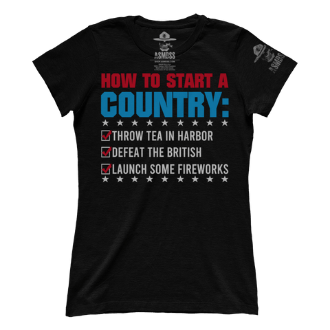 How To Start A Country (Ladies)