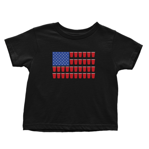 Solo Cup American Flag (Toddlers)