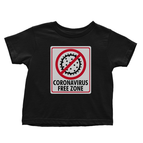 Coronavirus Free Zone (Toddlers)