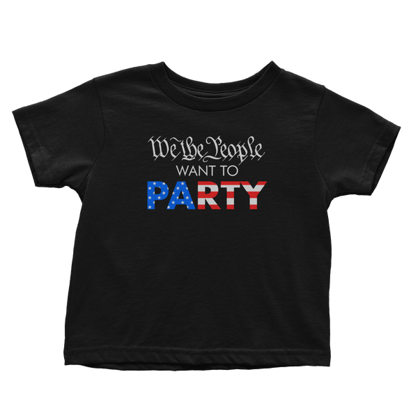 We The People Party (Toddlers)