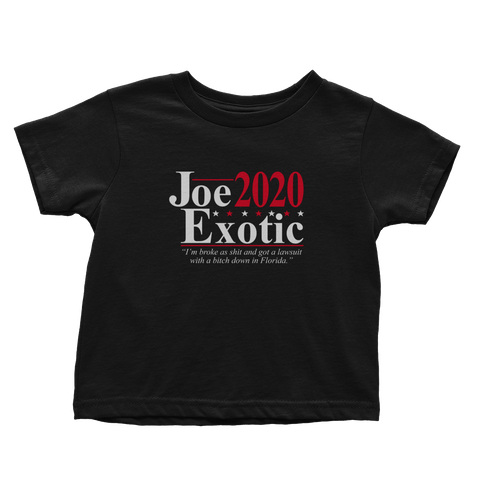 Joe Exotic 2020 V2 (Toddlers)