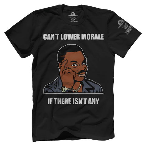 Can't Lower Morale
