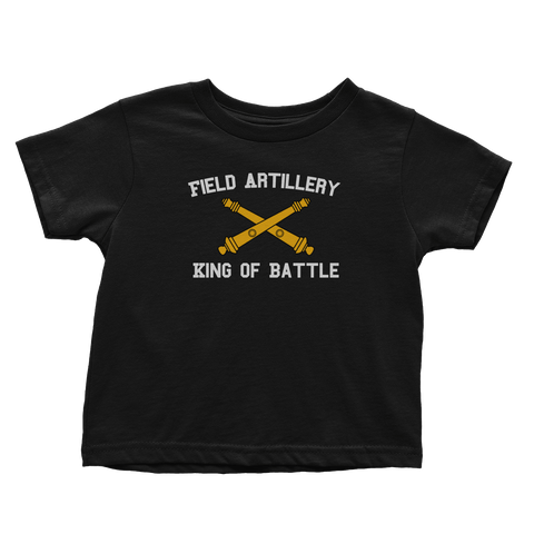 Artillery - King Of Battle (Toddlers)