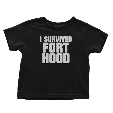 I Survived Fort Hood (Toddlers)