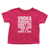 Worth A Shot - Vodka (Toddlers)