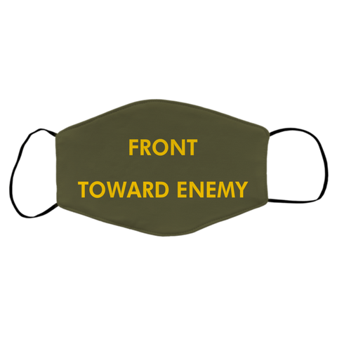 Claymore Front Toward Enemy Face Cover