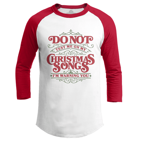 Christmas Songs Test