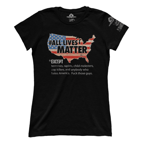 All Lives Matter - Raw (Ladies)