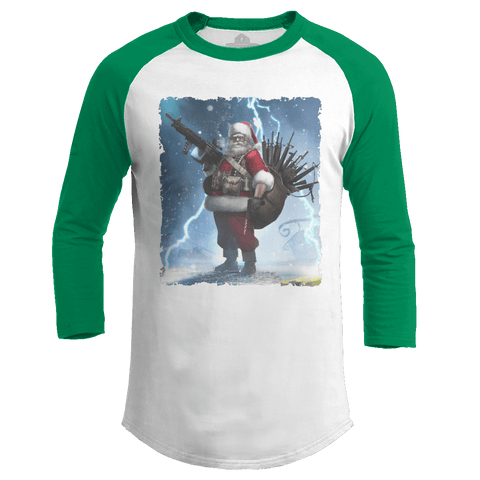 Colonel Claus - Snow Raglan (Ladies)
