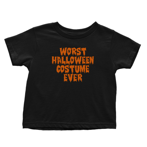 Worst Halloween Costume Ever (Toddlers)