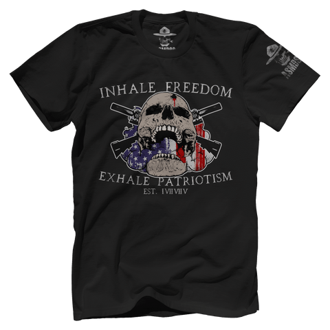 Inhale Freedom Exhale Patriotism