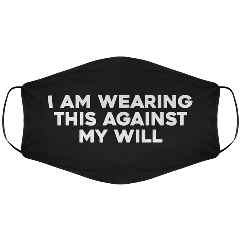 Against My Will Face Cover