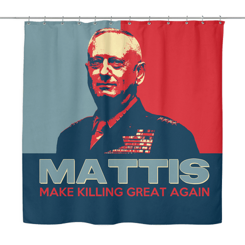 Make Killing Great Again Shower Curtain