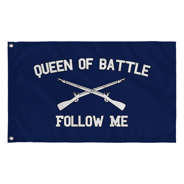 Infantry Queen of Battle Flag