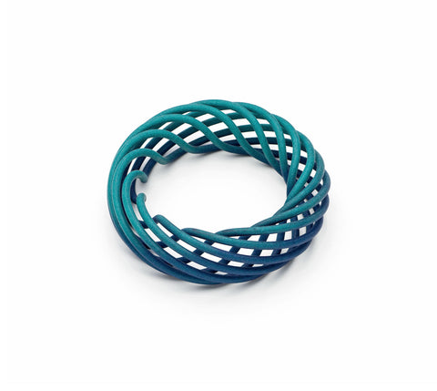 Teal/Navy Fade / Standard (fits most hands)                     Teal/Navy Fade / Small (5cm internal diameter)