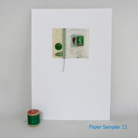 Paper Sampler 13 / With UK shipping included                     Paper Sampler 13 / With international shipping - please allow up to 2 weeks extra for delivery