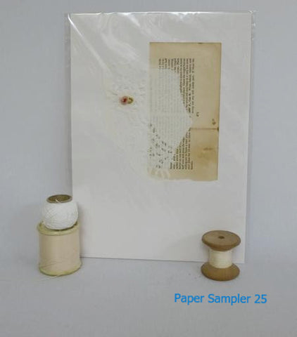 Paper Sampler 25 / With UK shipping included                     Paper Sampler 25 / With international shipping - please allow up to 2 weeks extra for delivery