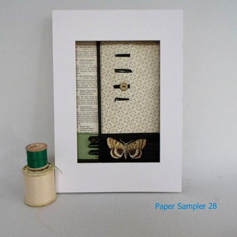 Paper Sampler 28 / With UK shipping included                     Paper Sampler 28 / With international shipping - please allow up to 2 weeks extra for delivery