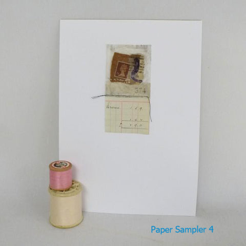 Paper Sampler 4 / With UK shipping included                     Paper Sampler 4 / With international shipping - please allow up to 2 weeks extra for delivery