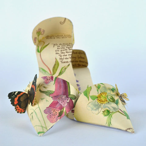 Butterfly book pages / With UK postage included                     Butterfly book pages / With international shipping