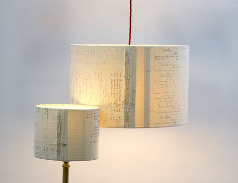 Smocked Ledger / Small with ceiling fitting                     Smocked Ledger / Small with lamp fitting                     Smocked Ledger / Large with ceiling fitting                     Smocked Ledger / Large with lamp fitting                     Smocked Ledger / Medium with ceiling fitting                     Smocked Ledger / Medium with lamp fitting