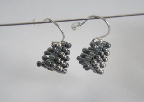 Oxidised grey silver