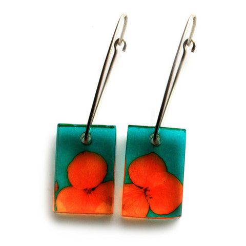 With UK postage included / Orange & Teal                     With international shipping / Orange & Teal