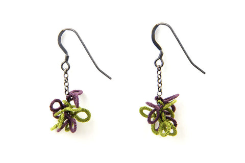 Purple and Green / With UK postage included