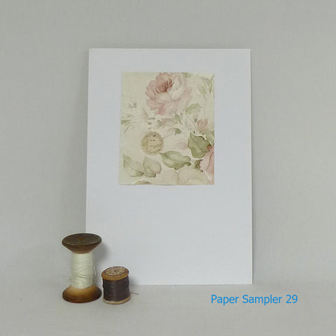Paper Sampler 29 / With UK shipping included                     Paper Sampler 29 / With international shipping - please allow up to 2 weeks extra for delivery