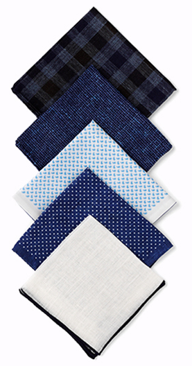 Shop the Thom Sweeney Pocket Square Collection
