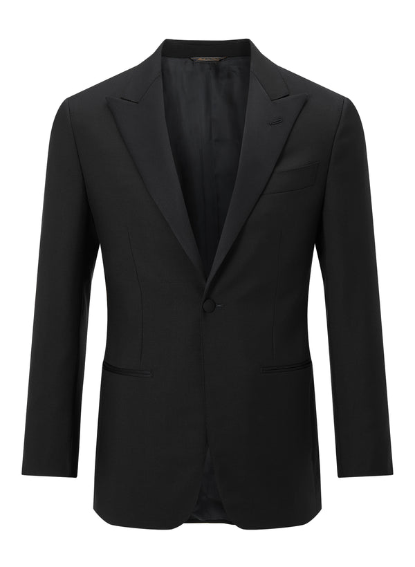 Classic Peak Lapel Dinner Suit - Midnight