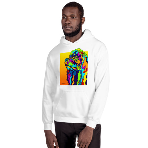 Cocker Spaniel Men Hoodie - MULTI-COLOR DOG PRINTS
