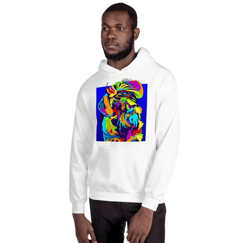 Dachshund Wirehair Men Hoodie - MULTI-COLOR DOG PRINTS