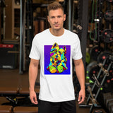 West Highland Terrier Short-Sleeve Men T-Shirt - MULTI-COLOR DOG PRINTS