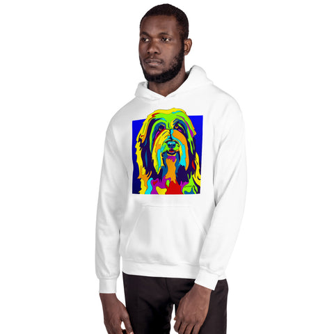 Bearded Collie Men Hoodie - MULTI-COLOR DOG PRINTS