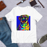 Puggle Short-Sleeve Men T-Shirt - MULTI-COLOR DOG PRINTS