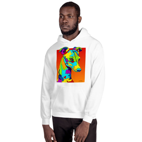 Italian Greyhound Men Hoodie