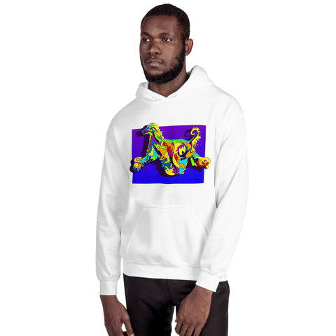 Yorkie Men Hoodie - MULTI-COLOR DOG PRINTS