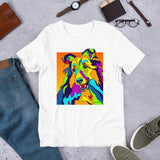 Shetland Sheepdog Short-Sleeve Men T-Shirt - MULTI-COLOR DOG PRINTS