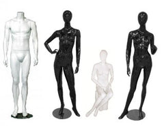 mannequins and body forms