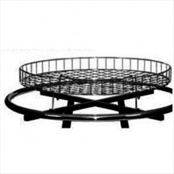 "30"" Round Basket for Round Rack - StoreFixtureShowcase.com"