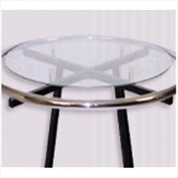 Round glass shelf - StoreFixtureShowcase.com