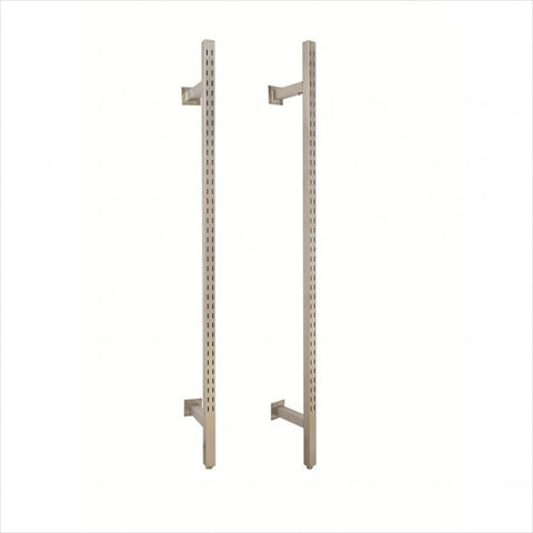 Heavy duty standard wall clothing rack