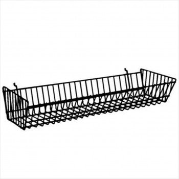 Double Sloping Basket - StoreFixtureShowcase.com